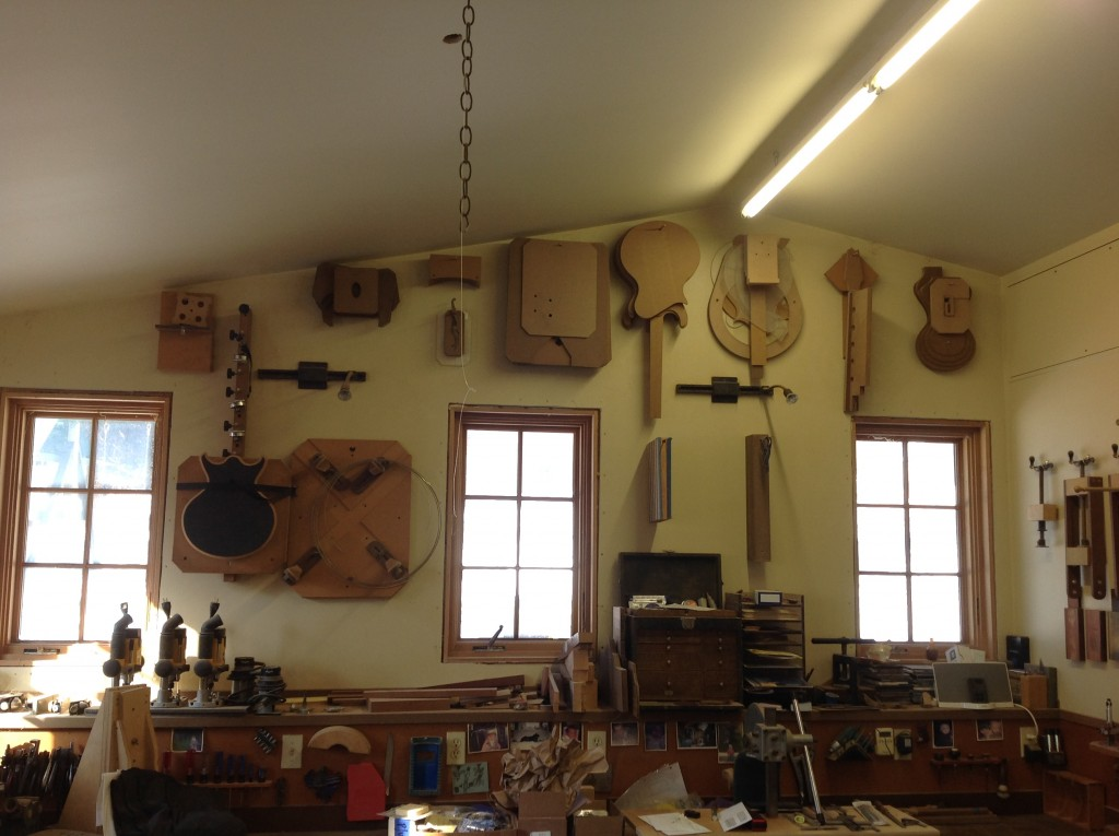 RickMaguire Guitars Woodworking Shop
