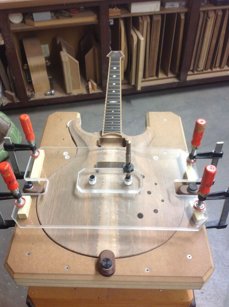 guitar woodworking and finishing