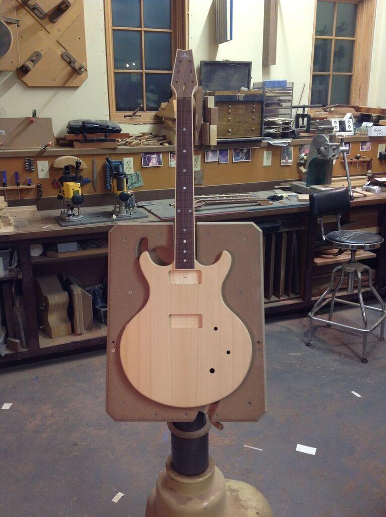 build a guitar body