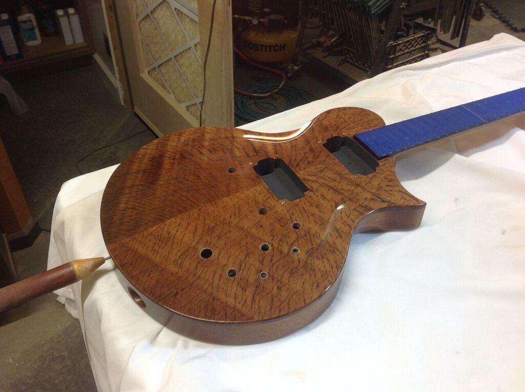 Shop Tour Rick Maguire Guitars