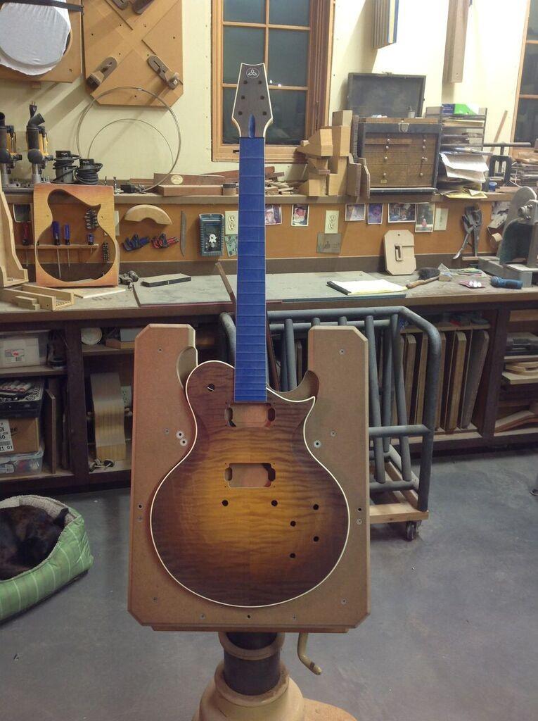 best built guitars, custom stains