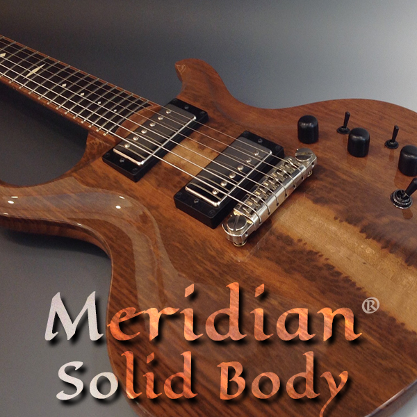 Meridian Solid Body Guitar